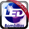 Ventilador Ovni Faro con bombillas de LED gratis